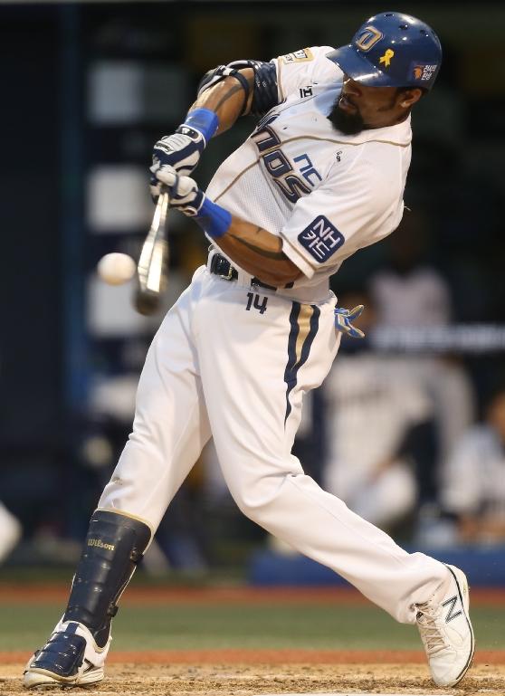 NC가 테임즈의 홈런 3방을 앞세워 넥센을 대파했다. ⓒ NC 다이노스 구단 제공