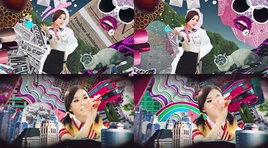 걸그룹 레드벨벳이 '행복' 뮤직비디오를 수정했다. 수정전(左), 수정후(右) ⓒ행복(Happiness) MV 캡쳐