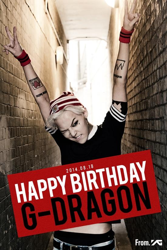 지드래곤이 생일을 맞이했다. ⓒ YG 엔터테인먼트
