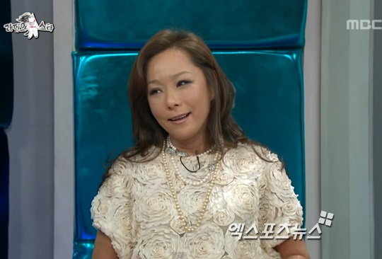 배우 김진아 사망 ⓒ MBC '라디오스타' 방송화면