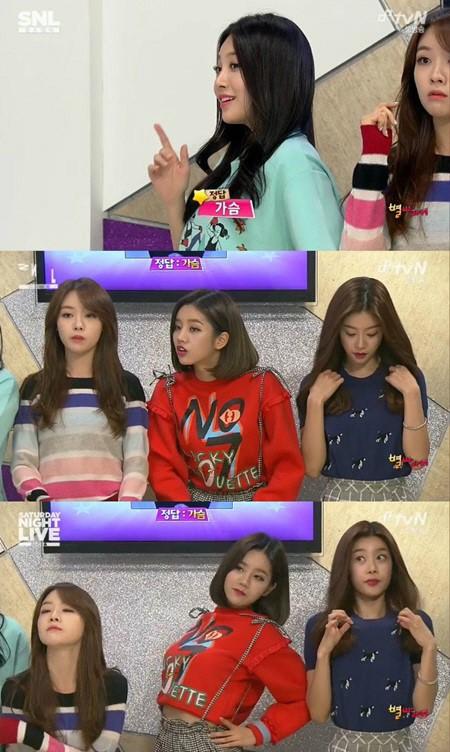 SNL 걸스데이 ⓒ tvN 방송화면