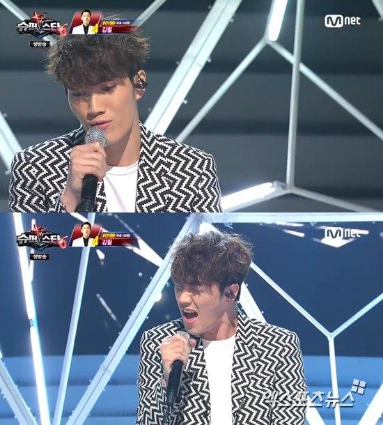 '슈퍼스타K6' 김필이 애절한 무대를 펼쳤다. ⓒ Mnet 방송화면