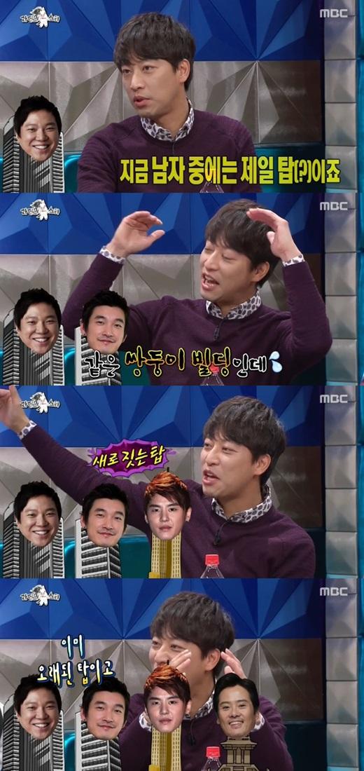 '라디오스타' 오만석이 정성화·조승우·김준수·남경주를 탑에 비유했다. ⓒ MBC 방송화면