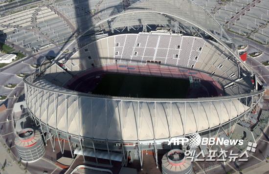 카타르 월드컵이 개최되기로 한 도하 경기장 ⓒAFPBBNews = News1