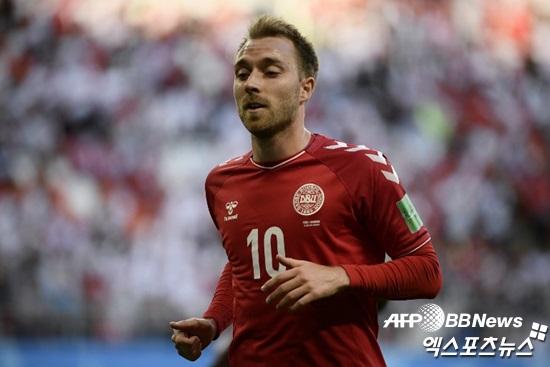 [월드컵:C조] '에릭센 선발' 2승 도전 덴마크, 호주전 선발명단 공개