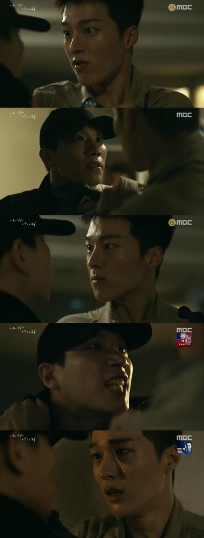 '이리와 안아줘' 장기용, 김경남 습격에 몸싸움…끝내 오열