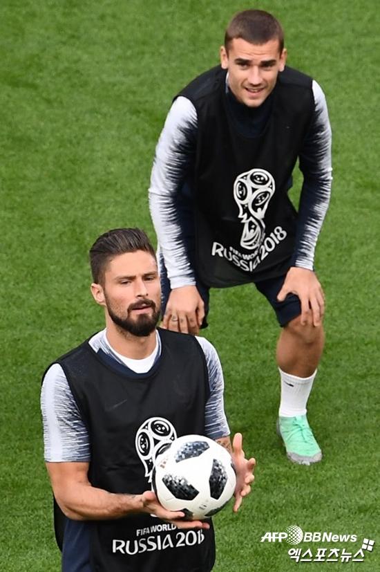 [월드컵:C조] '지루-그리즈만-음바페 선발' 프랑스, 페루전 선발 명단 공개