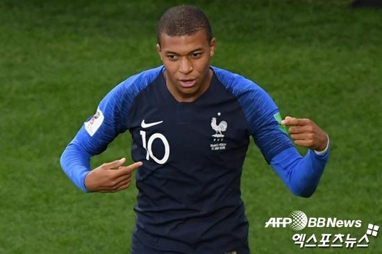 [월드컵:C조] '프랑스 WC 최연소 골' 음바페, 공식 MOM 선정