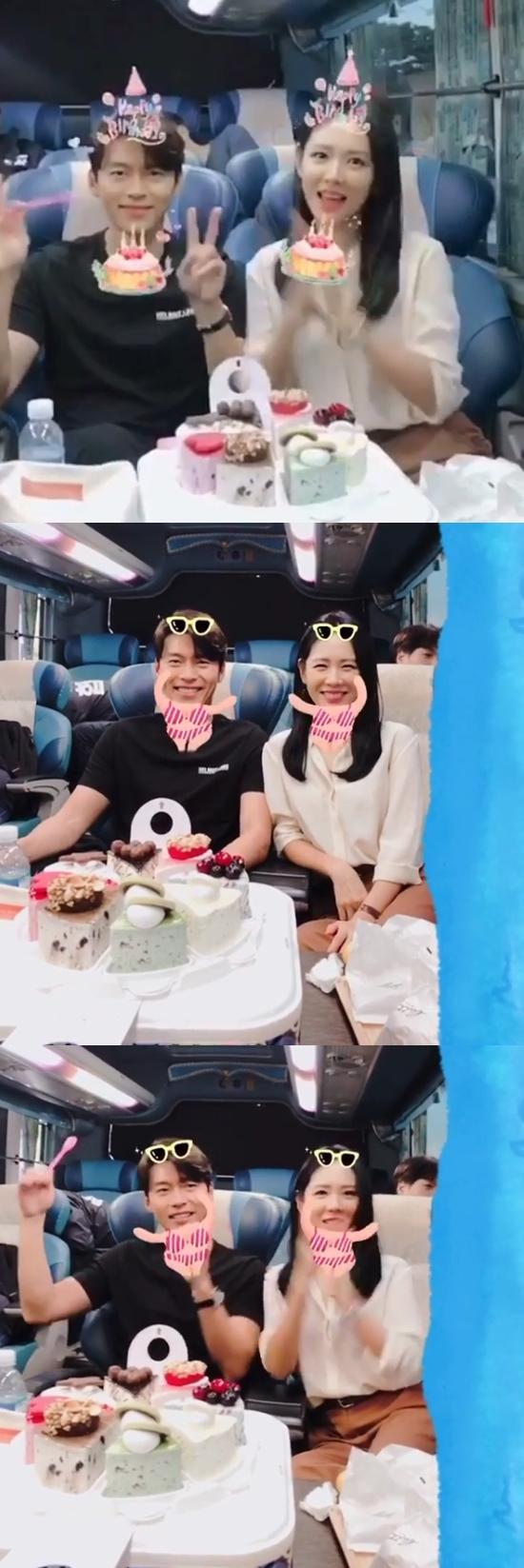"""[★해시태그] '협상' 손예진 """"현빈 생일 축하"""" 케미넘치는 투샷"""
