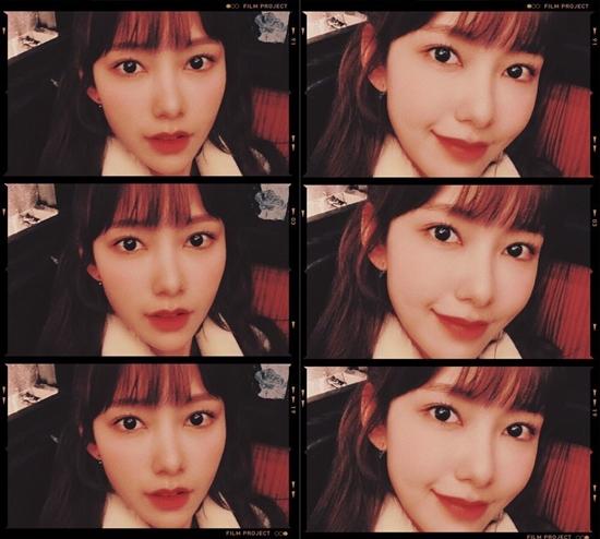 [★해시태그] '에릭♥' 나혜미, 자체 발광 미모 자랑