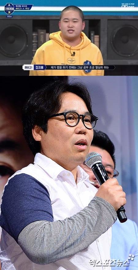 """정은표, 아들 정지웅 '고등래퍼3' 출연 응원 """"사랑한다"""" [★해시태그]"""