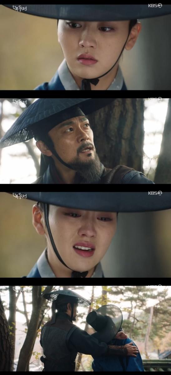 '녹두전' 김소현, 복수 다시 생각하란 이승준 말에 '눈물'
