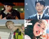 아이유, 임영웅, BTS, 제이홉, 이달의소녀, 츄