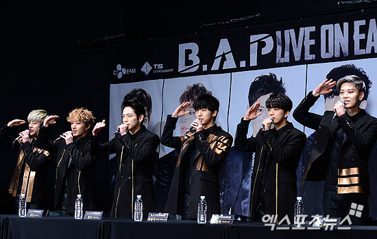 B.A.P 멤버들이 소속사 TS엔터테인먼트를 상대로 전속계약과 관련한 소송을 제기했다. ⓒ 엑스포츠뉴스DB
