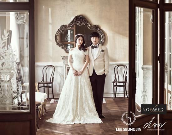 성민 김사은 결혼 ⓒ 나우웨드